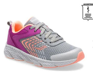 Saucony Wind Girls Running Shoes Purple-Grey | Sneakers Plus