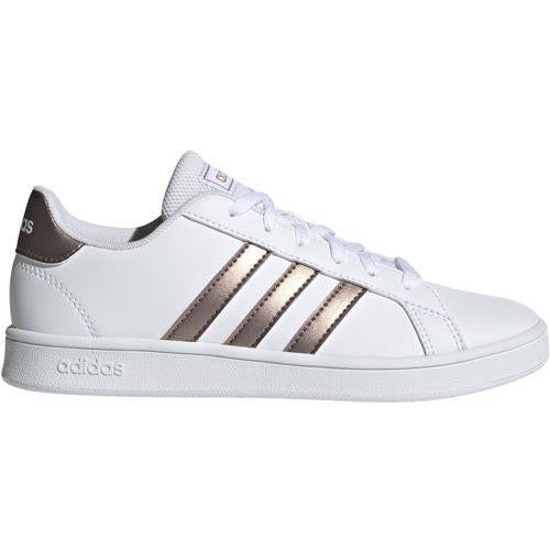 Adidas Grand Court Kids Court Shoe White | Sneakers Plus