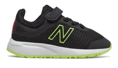 New Balance 455v2 Toddler Running Shoe Black-Neo Flame | Sneakers Plus