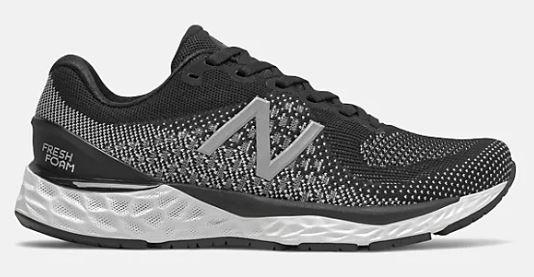 New Balance 880v10 Womens Wide Running Black-White | Sneakers Plus