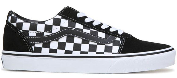 Vans Ward Mens Skate Shoe Black Checkerboard | Sneakers Plus