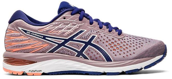 Asics Gel-Cumulus 21 Womens Running Shoe Violet Blush-Dive Blue | Sneakers Plus