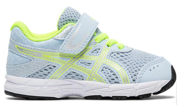 Asics Contend 6 Toddler Running Shoe Soft Sky-Pure Silver | Sneakers Plus