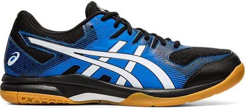 Asics Gel-Rocket 9 Mens Court Shoe Black-Directoire Blue | Sneakers Plus