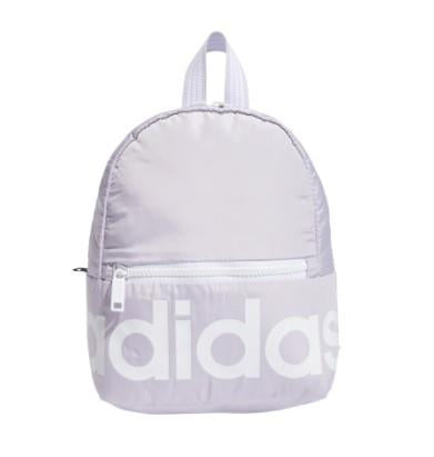 Adidas Linear Mini Womens Backpack  Purple | Sneakers Plus
