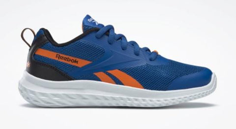 Reebok Rush Runner 3.0 Boy Running Shoe Blue-Orange | Sneakers Plus