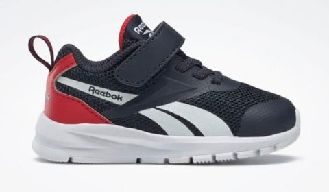 Reebok Rush Runner Toddler Running Shoe Navy-Red | Sneakers Plus
