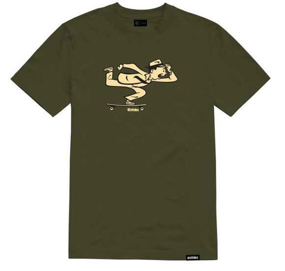 Etnies Push SS Mens Tee Military | Sneakers Plus