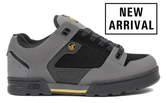 DVS Militia Snow Mens Low Boot Charcoal-Black-Gold | Sneakers Plus