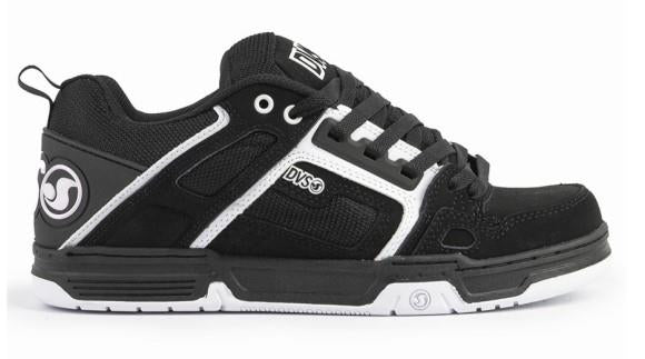 DVS Comanche Mens Skate Shoe Black-White | Sneakers Plus