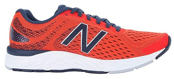 New Balance 680v6 Mens Running Shoe Orange | Sneakers Plus