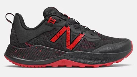 New Balance Nitrel v4 Boys Trail Shoe Energy Red-Black | Sneakers Plus