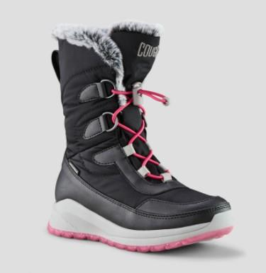 Cougar Staci Girls Snow Boot Black | Sneakers Plus