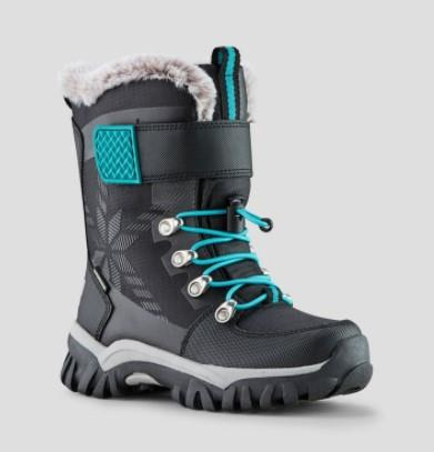 Cougar Toasty Nylon Girls Winter Boot Black | Sneakers Plus