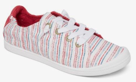 Roxy Bayshore III Womens Slip On Shoes Biking Red-White | Sneakers Plus