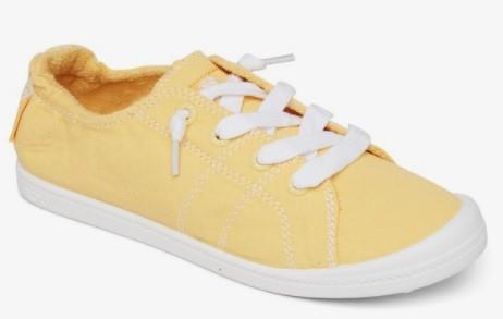 Roxy Bayshore III Womens Slip On Shoes Yellow | Sneakers Plus