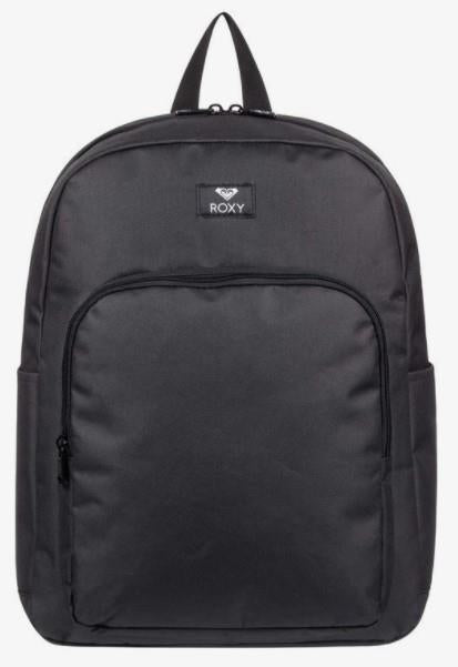 Roxy Winter Waves 22L Medium Backpack Black | Sneakers Plus