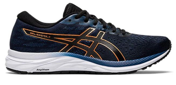 Asics Gel-Excite 7 Mens Running Shoes Black-Pure Bronze | Sneakers Plus