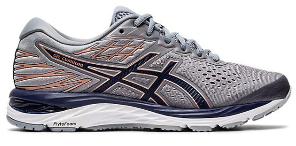 Asics Gel-Cumulus 21 Women Running Shoe Sheet Rock-Peacoat | Sneakers Plus