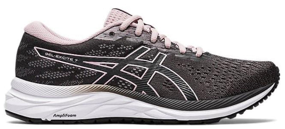 Asics Gel-Excite 7 Womens Running Shoe Grey-Watershed Rose | Sneakers Plus