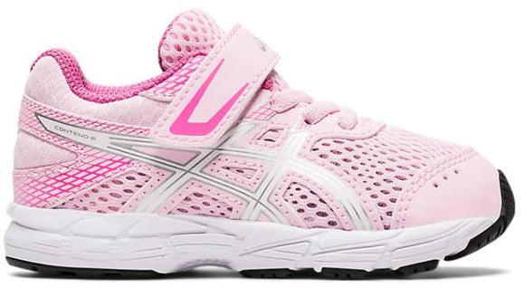 Asics Contend 6 Toddler Running Shoe Cotton Candy-White | Sneakers Plus