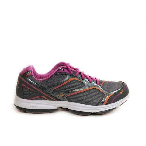 Ryka Devotion Plus Womens Walking Shoe Grey/Rose |Sneaker Plus