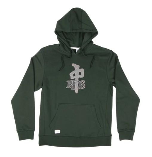 RDS Hoodie OG Chenille Men Bottle Green | Sneakers Plus