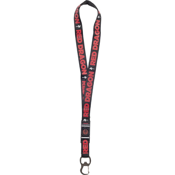 RDS Lanyard, Black/Red/White | Sneakers Plus