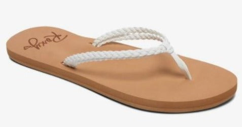 Roxy Costas Womens Sandals White | Sneakers Plus