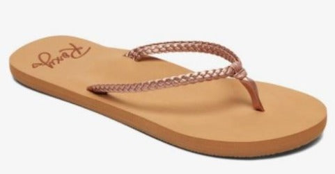 Roxy Costas Womens Sandals Rose Gold | Sneakers Plus