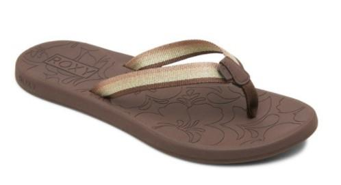 Roxy Colbee Womens Sandals Chocolate | Sneakers Plus