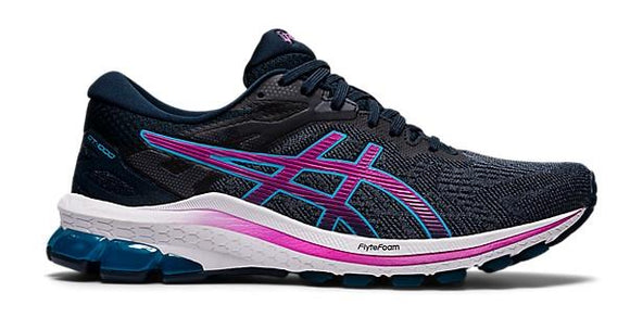 Asics GT-1000 10 Womens Running Shoe French Blue-Digital Grape | Sneakers Plus