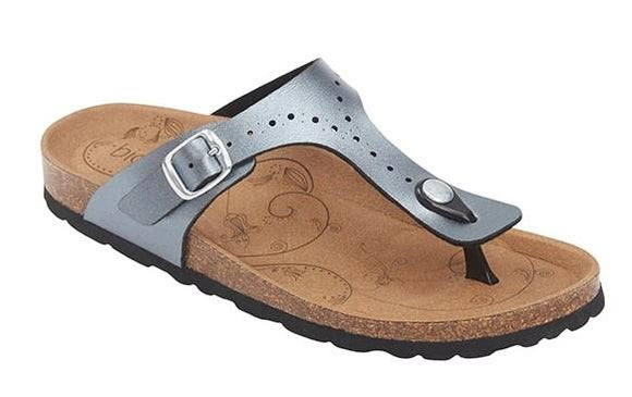 Biotime Brooke Womens Sandals Pewter | Sneakers Plus