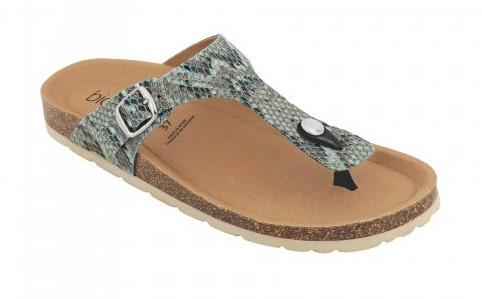 Biotime Brooke Snake Womens Sandal Aqua | Sneakers Plus