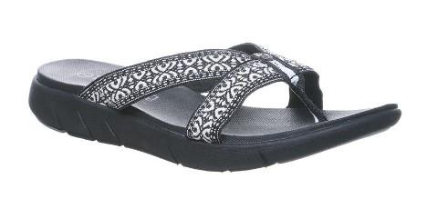 Bearpaw Womens Juniper Sandal, Black | Sneakers Plus