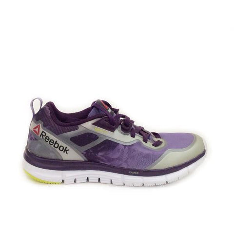 Reebok ZQuick Soul Womens Running Shoe Purple/Orchid/White |Sneakers Plus