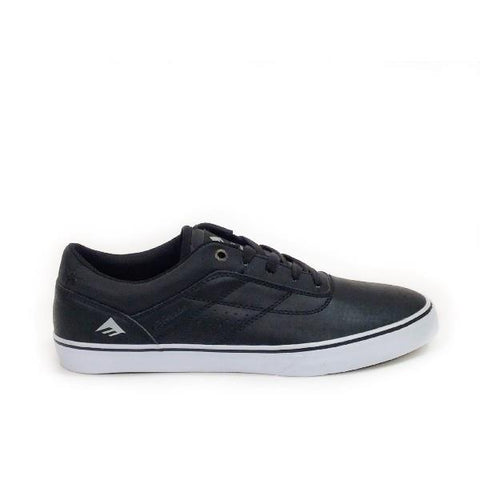 Emerica Herman G6 Vulc Mens Skate Shoe Black/White |Sneakers Plus