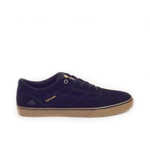 Emerica Herman G6 Vulc Mens Black/Gum |Sneakers Plus
