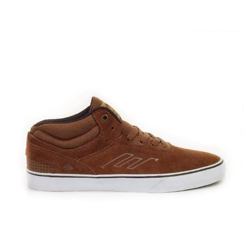 Emerica Westgate Mid Vulc Mens Skate Shoe Brown |Sneakers Plus