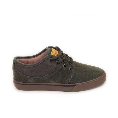 Globe Mahalo Mens Skate Shoe Dark Green |Sneakers Plus