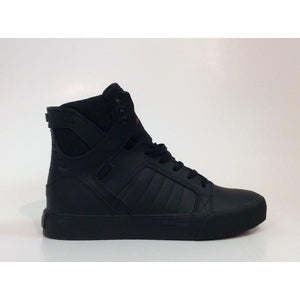 Supra Skytop Kids Hi Top Black |Sneakers Plus