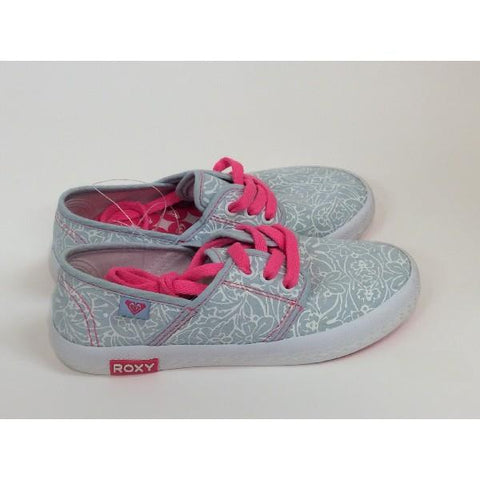 Roxy RG Hermosa Girls Casual Shoe Blue/Pink |Sneakers Plus
