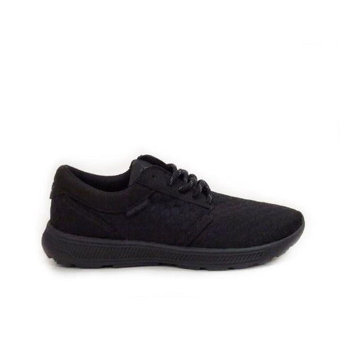 Supra Hammer Womens Skate Shoe Black |Sneakers Plus