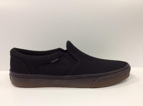 Vans Asher Herringbone Slip On Mens |Sneakers Plus