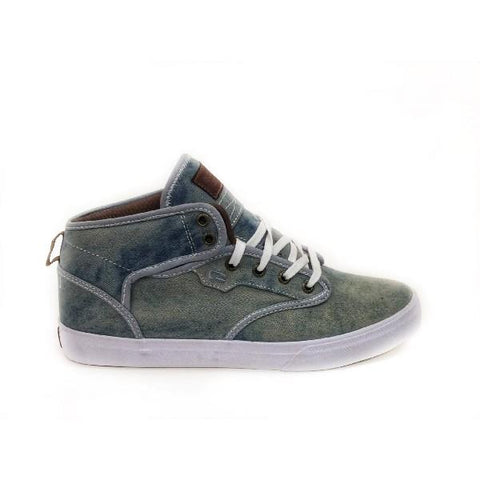 Globe Motley Mid Mens Washed Blue |Sneakers Plus