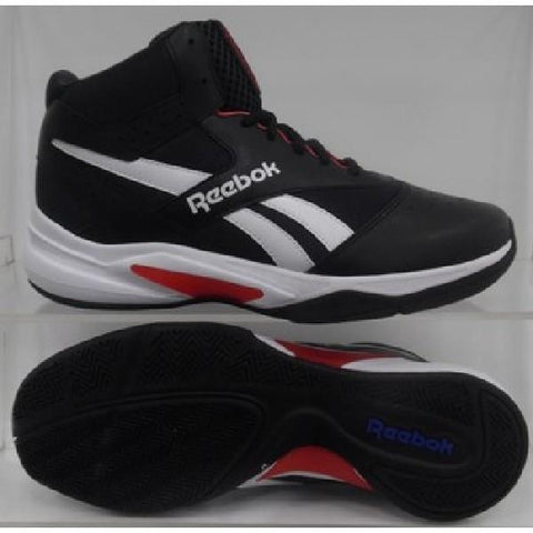 Reebok Pro Heritage 3 Mens Basketball Shoes Black/Red |Sneakers Plus