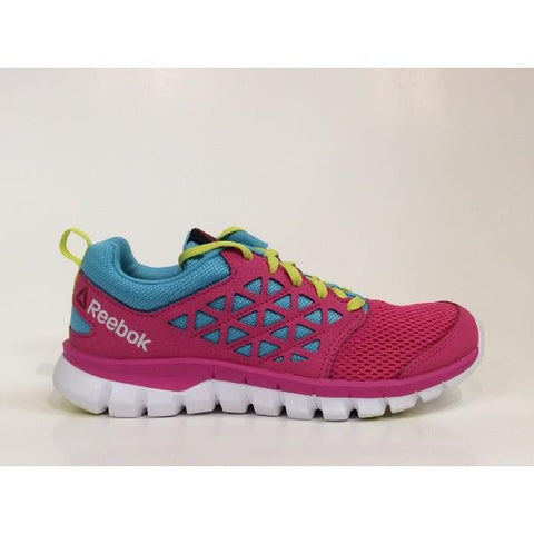 Reebok Sublite XT Kids Running Shoe Hot Pink/Blue |Sneakers Plus
