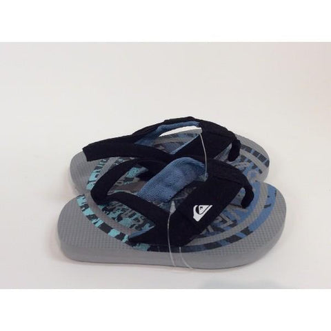 Quiksilver Molokai Toddler Sandal Grey |Sneakers Plus