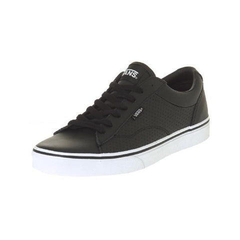 Vans Dawson Mens Black/White |Sneakers Plus