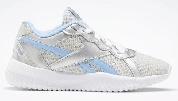 Reebok Flexagon Energy 2.0 Girls Shoes Silver-Blue-White | Sneakers Plus